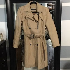 Zara structured Trench coat High quality lined.